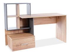 Комп'ютерний стіл B-003 дуб вотан / антрацит