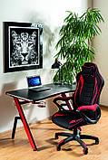 Комп'ютерний стіл B-006 червоний/чорний