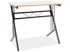 Комп'ютерний стіл B-120 колір дуб/темно-коричневий