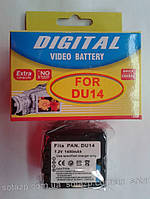 Аккумулятор для фото- видеокамеры Panasonic CGA-DU14   1400mAh
