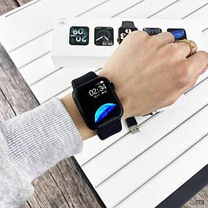 Мужские наручные смарт часы Modfit WH22 All Black.Электронные часы мужские .Сенсорные смарт часы