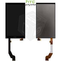Дисплейный модуль (дисплей + сенсор) для HTC Desire 816G / 816H, черный, оригинал