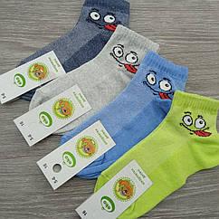 Носки детски с сеткой, для мальчиков, эмоджи, ЕКО, р.16(5-6), случайное ассорти 30031795