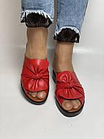 Ripka. Женские кожаные шлепанцы. Размер  37 38 39 40  Турция, фото 9