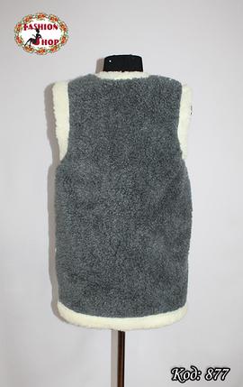 Взрослый жилет из овечьей шерсти , фото 2