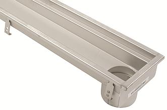 Лотковий канал Blucher із нержавіючої сталі AISI 304 (кухонный лоток) 2000 мм