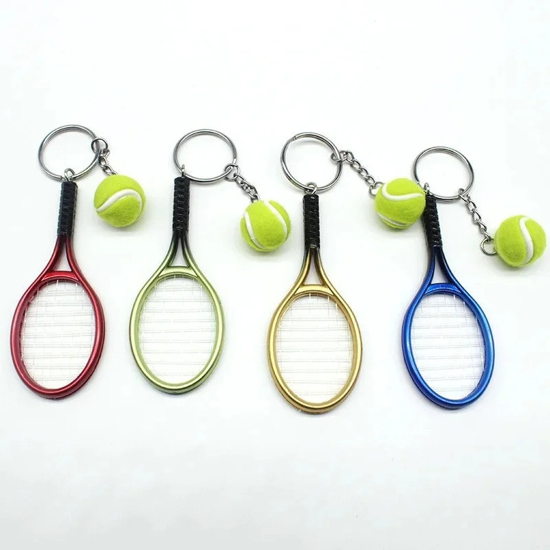 Брелок подарочный Теннис набор 12 шт