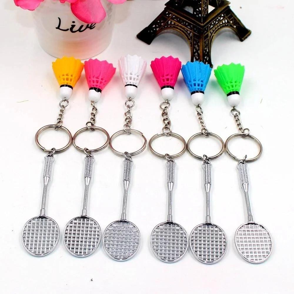 Подарунковий брелок на ключі Бадмінтон набір 12 шт