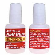 Клей ногтей, страз, типсов Bond Nail Glue , 10 g