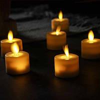 """Электронные свечи """"чайные"""" с имитацией пламени FL44 набор"""