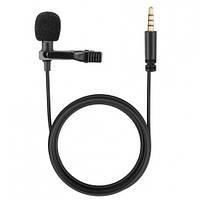 Микрофон мини с кабелем AUX JH-043 \ Петличный микрофон JH-043 Lavalier MicroPhone