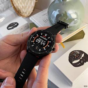 Мужские умные смарт Modfit Z06 All Black часы спортивные смарт-часы, розумний годинник /Сенсорные умные часы