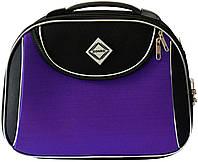 Кейс дорожній Bonro Style середній чорно-фіолетовий (10101404)