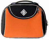 Кейс дорожній Bonro Style середній чорно-оранжевий (10101406)