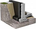 Профільована шиповидна мембрана IZOLIT Ізоліт L8 400 гр/м2, фото 2