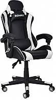 Крісло геймерське Bonro B-2013-2 біле (40800030)