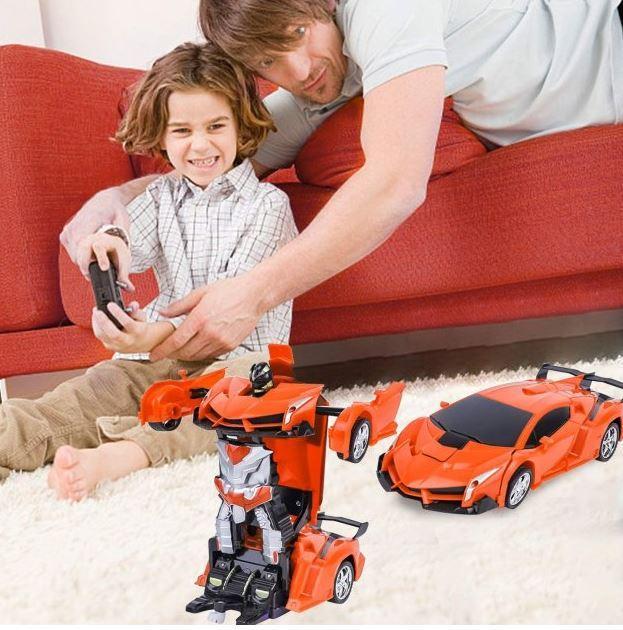 Машинка робот трансформер 889-19 на радіокеруванні Lamborghini Car Robot
