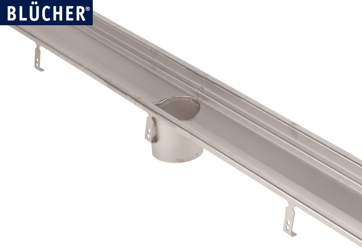 Лотковий канал Blucher із нержавіючої сталі AISI 304 (кухонний лоток) 4000 мм