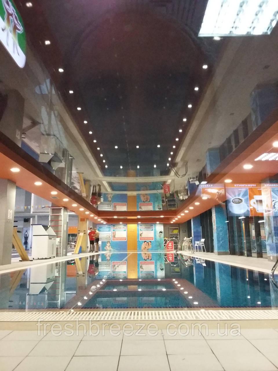 Вентиляция для бассейна, бани, сауны