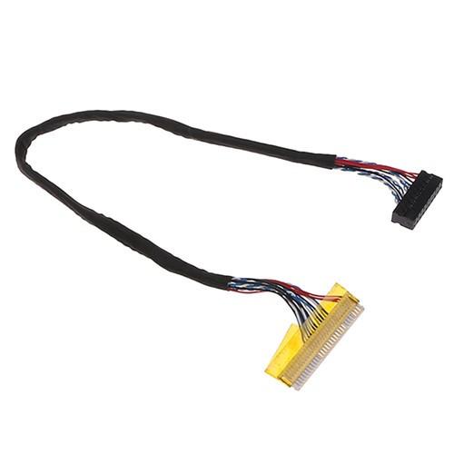 Кабель шлейф LVDS FI-X 30pin 1канал 6бит для РК матриць 13.3-15.6, 101762