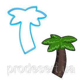 Вирубка для пряників Пальма 8*6,5 см (3D)