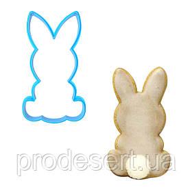 Вирубка для пряників Кролик 7,2*4 см (3D)