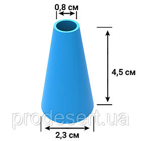 Насадка для макаронів 8 мм кондитерська (3D)