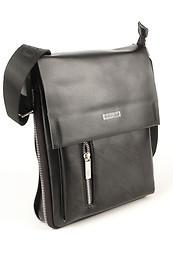Кожаные мужские сумки POLO Черный