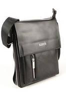 Кожаные мужские сумки POLO Черный, фото 1