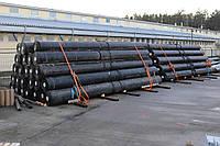 Геомембрана GSE HD 2.0 мм гладкая Германия (HDPE - ПЭВП) в рулонах размером 6.95х110 метров