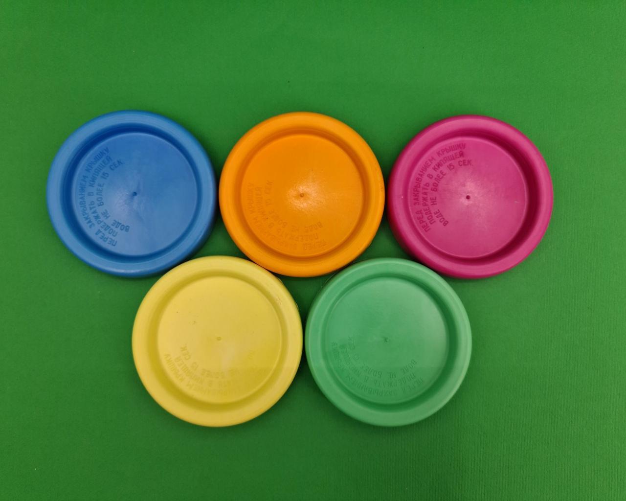 Пластиковая крышка Цветная (для гарячего) (1 шт)