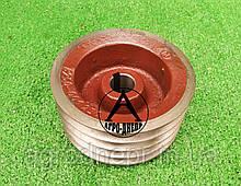 Шків на роторну косарку Z-169; Z-173 (малий, 4х ручейный) 8245-036-010-250