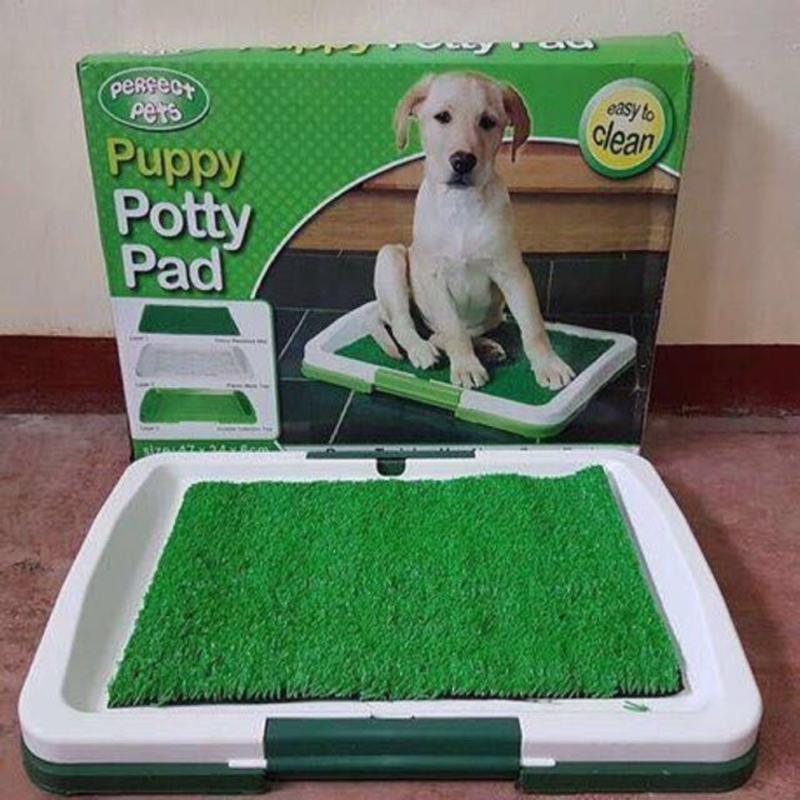 Туалет лоток для собак травка Puppy Potty Pad, Туалетные лотки для животных и аксессуары 47х34х6 см