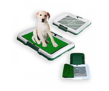 Туалет лоток для собак травка Puppy Potty Pad, Туалетные лотки для животных и аксессуары 47х34х6 см, фото 2