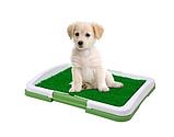 Туалет лоток для собак травка Puppy Potty Pad, Туалетные лотки для животных и аксессуары 47х34х6 см, фото 3