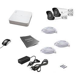 Комплект IP видеонаблюдения Uniview 2OUT 2MEGA