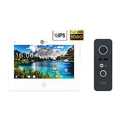 Комплект відеодомофона Neolight NeoKIT HD Pro Black