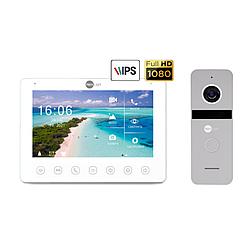 Комплект відеодомофона Neolight OMEGA+ HD / Solo FHD Silver