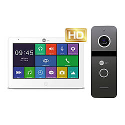 Комплект відеодомофона Neolight MEZZO HD / Solo FHD Graphite