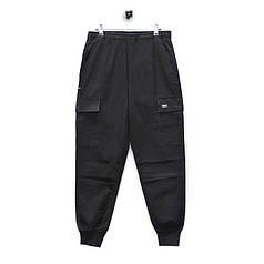 Повседневные штаны Lesko 8076/ZY Black размер 3XL брюки мужские однотонные