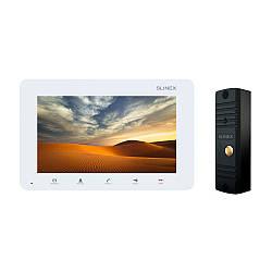 Комплект відеодомофона Slinex SM-07MN White / ML-16HR Black