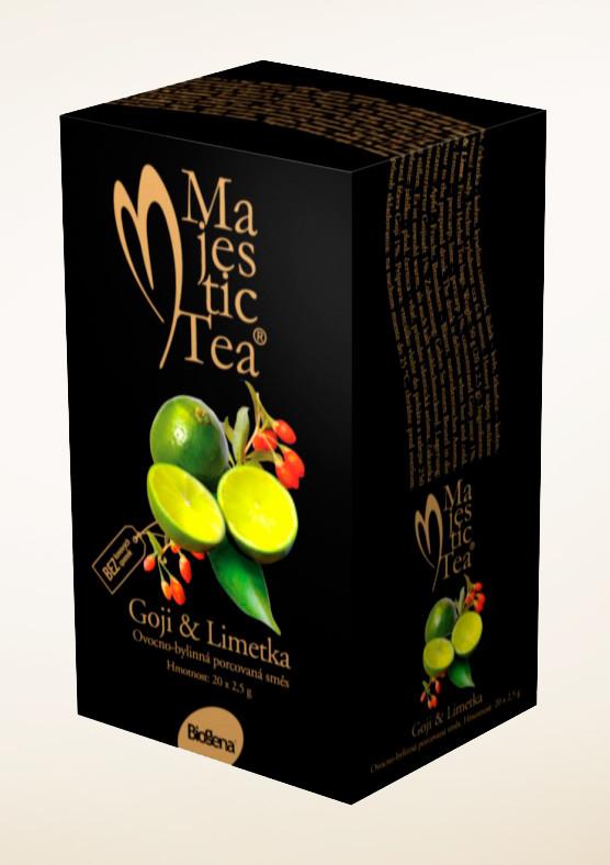Чай Majestic Goji & limet (Годжи/Дереза и лайм)