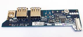 Плата USB портов и кнопок HBL50 LS-2922P для ноутбука Acer  б.у, фото 2