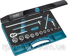 Набор Инструментов HAZET 880ZN-1 Торцевые Головки Трещотка 3/8 Made in Germany
