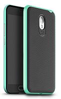 Чехол накладка IPAKY TPU + бампер PC для Meizu M2 Note зеленый