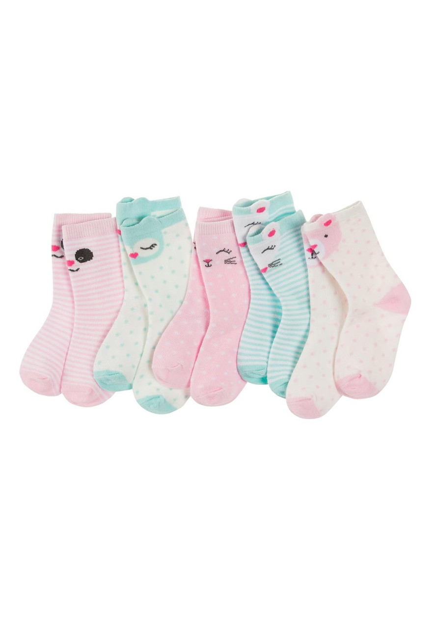 Комплект для дівчаток шкарпеток 13/15 5 шт.