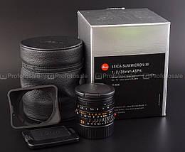 Фотообъектив Leica Summicron-M 1:2/28 mm ASPH