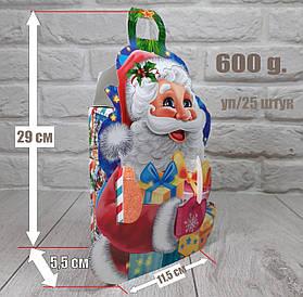 """Новогодняя коробка для конфет 600 грамм """"Веселых Свят"""" уп/25 штук"""