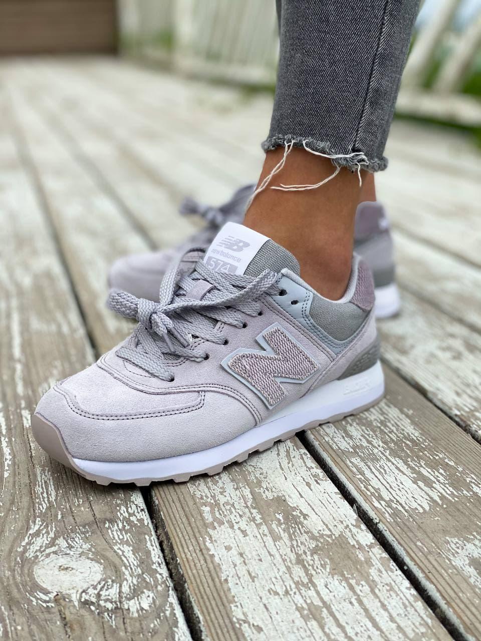 Жіночі кросівки New Balance 574 Violet