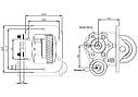 Коробка отбора мощности (КОМ) для TOYOTA, фото 2